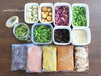 今週の作り置き~15回目~&サンドウィッチ弁当 - 男子高校生のお弁当
