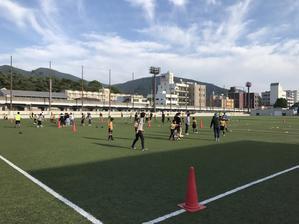 親子サッカー...☆ - FOOTBALL CLUB    BRISTOL   フットボールクラブ ブリストル