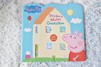 かわいい豚さんPeppa Pig(ペッパピッグ)のシールブック☆ - ドイツより、素敵なものに囲まれて②