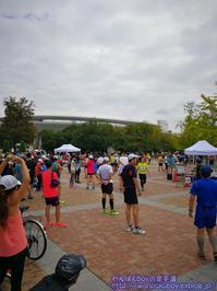 長居公園マラソンハーフマラソン・・・ - わんぱくBoyの空手道