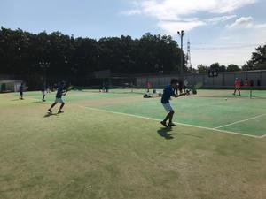 練習試合 対川越東洋大学 - 東京電機大学理工学部硬式庭球部