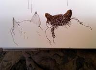 猫の耳 - 糸巻きパレットガーデン