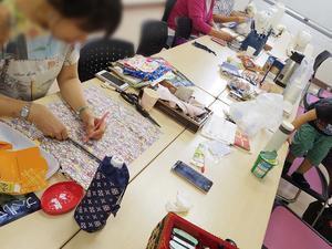 やりたい事がはかどると、体が軽い!おとなの手作りクラブ開催しました - 手製本クリエイター&切絵コラージュ作家 yukai の暮らしを愉しむヒント