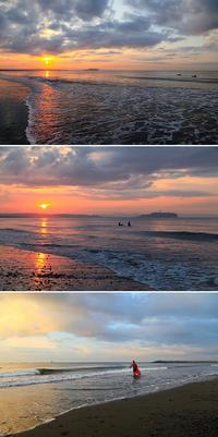 2017/09/25(MON) Sunrise Surfing. - SURF RESEARCH