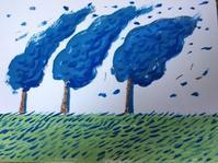 台風の夜 - たなかきょおこ-旅する絵描きの絵日記/Kyoko Tanaka Illustrated Diary