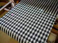 spot weave アレンジ - アトリエひなぎく 手織り日記