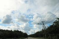 雲の色形 - 三宅島風景