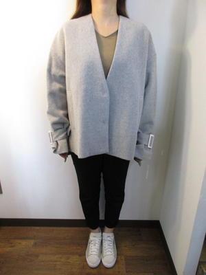 マルシャルテル / MARECHAL TERRE  Short wool coat - 浜松 セレクトショップ samedi et dimanche NEWS
