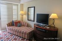 ◆ アリビラから本部へ 7 回目の沖縄、その3 「ホテル日航アリビラへ」 客室編 - 空と 8 と温泉と