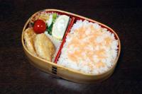 豆腐ハンバーグ - 庶民のショボい弁当
