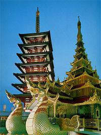 【大阪万博】1970年4月17日(金)ビルマナショナルデー - 大阪万博EXPO70/47年前の今日は