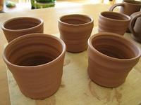 ■陶芸(楽陶会):ゆがみの練習その2 - 陶芸ブログ・さるのやきもの