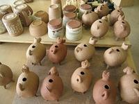 ■陶芸(楽陶会):戌エトー君の産声 - 陶芸ブログ・さるのやきもの