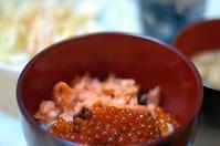 夕ご飯/鮭の親子丼 - おいしい日記