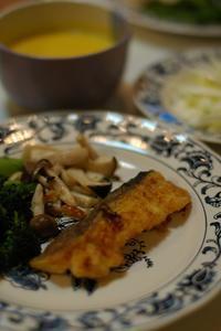 夕ご飯/鱈のカレームニエル - おいしい日記