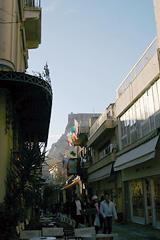 夕焼け色のアテネの町(ギリシア報告) - てるてる教団伝言板