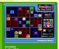 Snoodoku for Mac OS X<G3> - あるiBook G4ユーザによるブログ