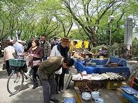 ■調神社骨董市♪春なのに・・・ - 陶芸ブログ・さるのやきもの