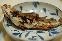 夕ご飯/イシモチの塩焼き - おいしい日記