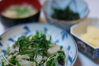 夕ご飯/鰹のたたき - おいしい日記