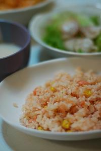 夕ご飯/創作料理*鮭の洋風寿司 - おいしい日記