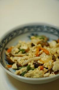 炒り豆腐 - おいしい日記