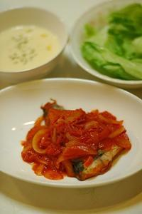 秋サバのトマト煮 - おいしい日記