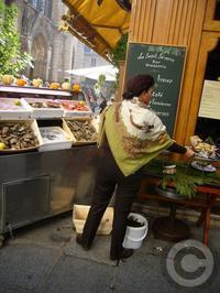 【LE SAINT SEVRIN】牡蠣の季節到来(パリ) - フランス美食村