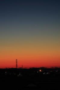 明け方の水星 - 烏ヶ森のブログ