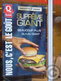 ■街角のハンバーガー(パリ) - フランス美食村