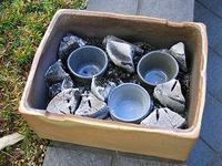 ■陶芸(楽陶会): サヤ鉢焼成結果! - 陶芸ブログ・さるのやきもの