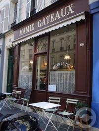 【MAMIE GATEAUX】街角のサロン・ド・テ(パリ) - フランス美食村