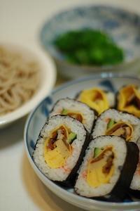 2/3の夕食>>>恵方巻き - おいしい日記