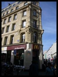 ■街角のマクド(PARIS) - フランス美食村