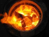 ■陶芸(楽陶会): 七輪陶芸と山之内窯の初焼成 - 陶芸ブログ・さるのやきもの