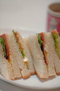 サンドイッチ - おいしい日記