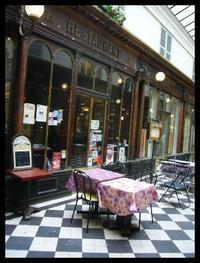 ■パッサージュのキャフェ&レストラン(パリ) - フランス美食村