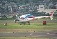 朝日のベテラン355F2がドナドナ - ■□ほーどー飛行機□■Aerial news gathering