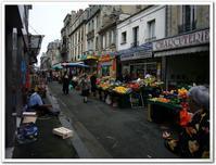 ■ボルドーの市場にて - フランス美食村