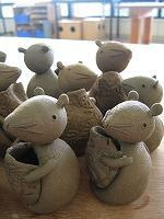 ■陶芸(楽陶会):エトー君子ネね! - 陶芸ブログ・さるのやきもの