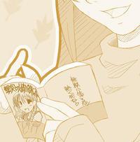 HPトップ画更新『読書のおねいさん』 - Column・DE・Co・llage(こらむでこらーじゅ)