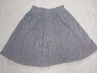 3.ピンストライプのスカート(2008.04.09) - ★キラキラ手作り子供服