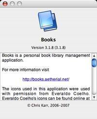 Books 3.1.8 - あるiBook G4ユーザによるブログ
