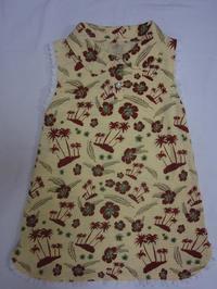 6.花柄のワンピース(2008.04.12) - ★キラキラ手作り子供服