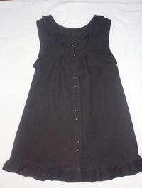 10.黒レースのワンピース(2008.04.27) - ★キラキラ手作り子供服