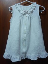12.ピンタックのワンピース(2008.05.02) - ★キラキラ手作り子供服