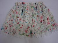 13.花柄のスカート(2008.05.04) - ★キラキラ手作り子供服
