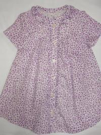 17.花柄のワンピース(2008.05.17) - ★キラキラ手作り子供服