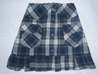 18.チェックのプリーツスカート(2008.05.18) - ★キラキラ手作り子供服