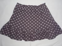 23.紫ドットのスカート(2008.06.18) - ★キラキラ手作り子供服